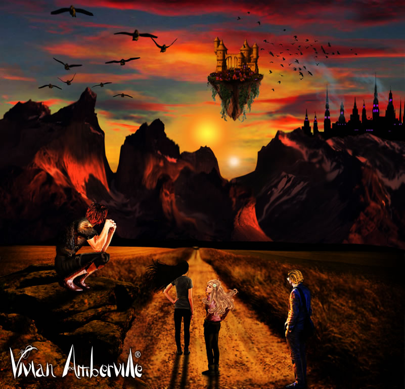 Vivian Amberville - The Weaver of Odds - a bestselling fantasy by Louise Blackwick