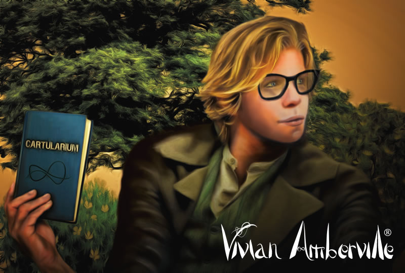 Lucian Blossom is a main character in the popular Vivian Amberville fantasy book series