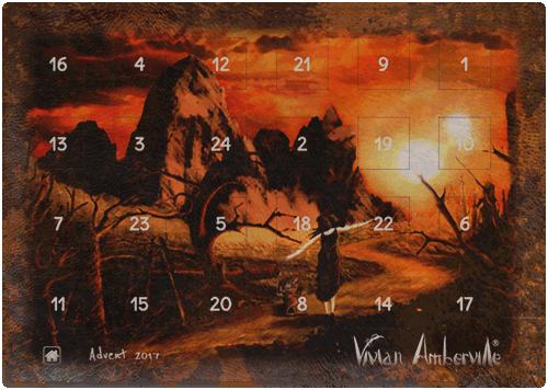 Vivian Amberville Advent Calendar 2017