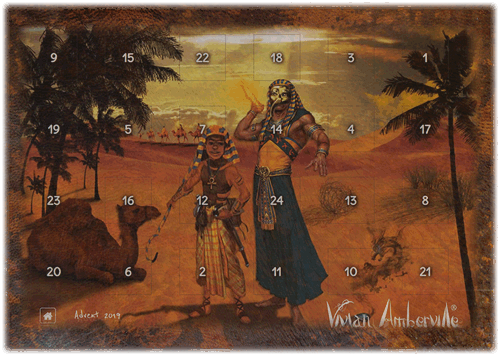 Check out our Vivian Amberville Advent Calendar for 2019