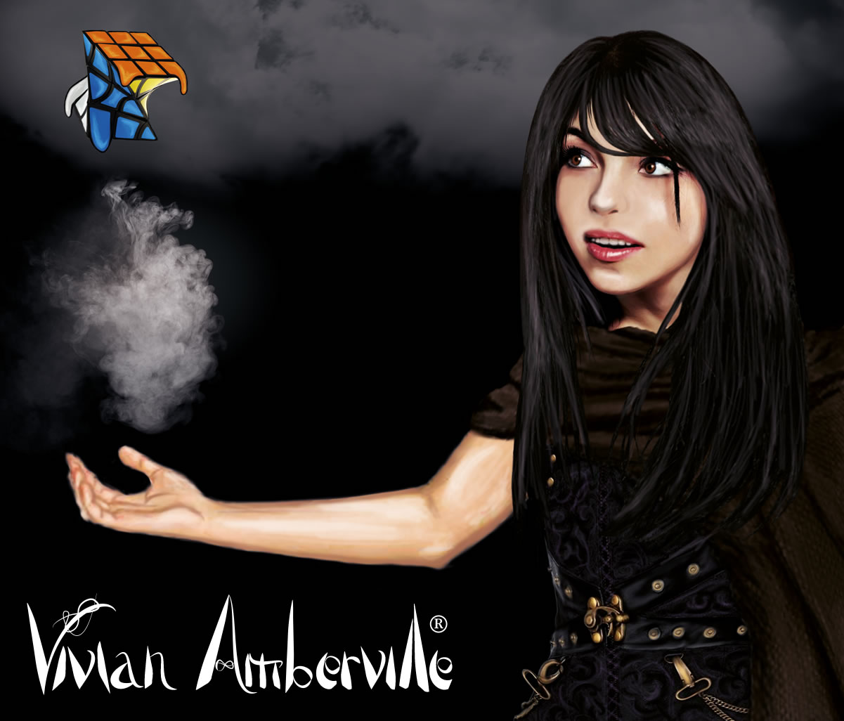 Vivian is the main protagonist of the Vivian Amberville fantasy book franchise
