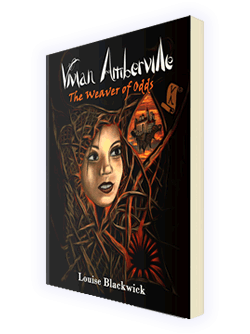 Vivian Amberville - The Weaver of Odds paperback cover